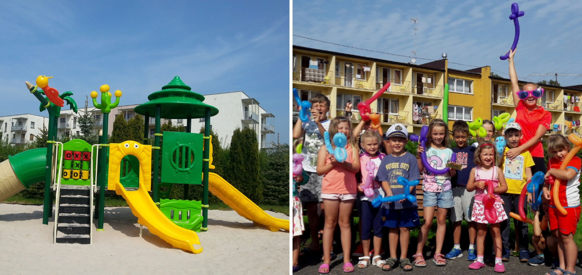 Dzieci w Ośrodku komfort i dobra zabawa